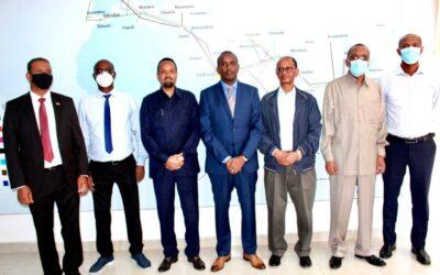 Hosting High Level Ethiopian Delegation