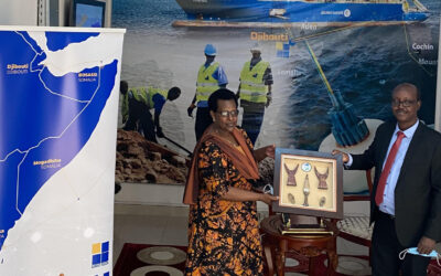 Visit From Ambassador of Rwanda