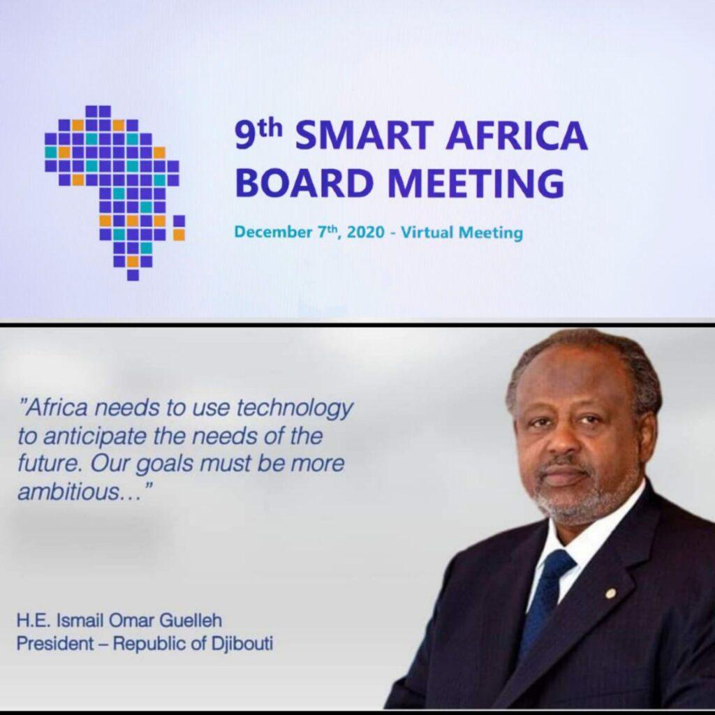 Smart Africa - H.E President Guelleh